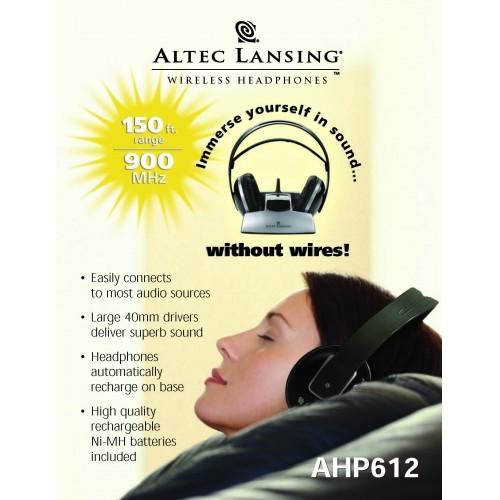 Altec - AHP612 Headphones - Sales Brochure