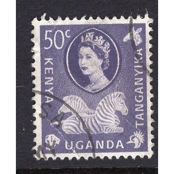 Kenya-Uganda-Tanganyika (1960) Sc# 127 (1) used