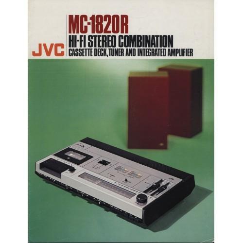 JVC - MC-1820R Stereo - Sales Brochure