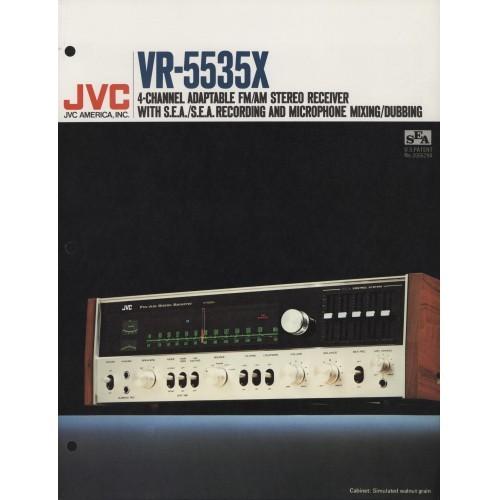 JVC - VR-5535X Receiver  - Sales Brochure