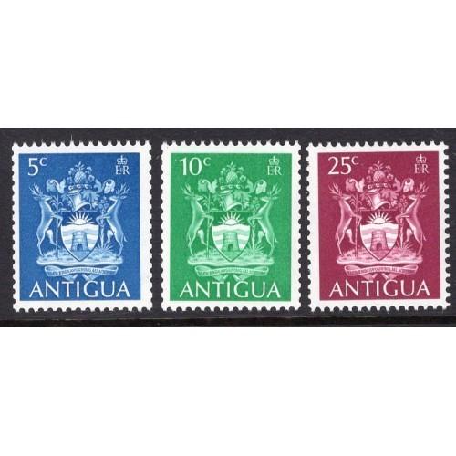 Antigua (1970) Sc# 228-30 MNH complete set; CV $0.75