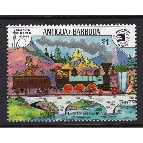 Antigua (1989) Sc# 1252 MNH; CV $1.40