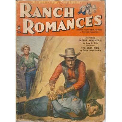 RANCH ROMANCES 1956/11-2 Ellis SADDLE MOUNTAIN