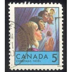 Canada 502 Christmas 1969 CV = 0.20$