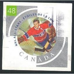Canada 1972f Hockey Booklet: Bill Durnan CV = 2$
