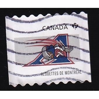 Canada 2566 Montreal Alouettes Coil