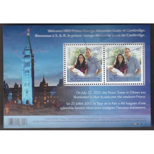 Canada 2685 HRH Prince George of Cambridge SS