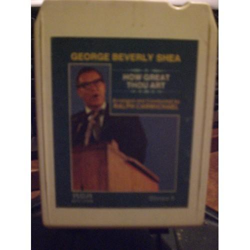 USED 8 TRACK: #1928.. GEORGE BEVERLY SHEA - HOW GREAT THOU ART / RCA APS1-0400