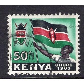Kenya (1963) Sc# 7 (2) used