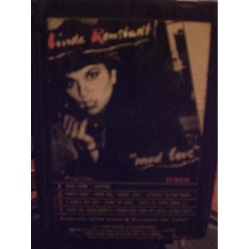 USED 8 TRACK: #1957.. LINDA RONSTADT - MAD LOVE / ASYLUM 5T-8510