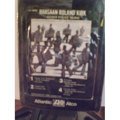 SEALED 8 TRACK: #224.. RAHSAAN ROLAND KIRK - OTHER FOLKS' MUSIC / ATLANTIC 1686