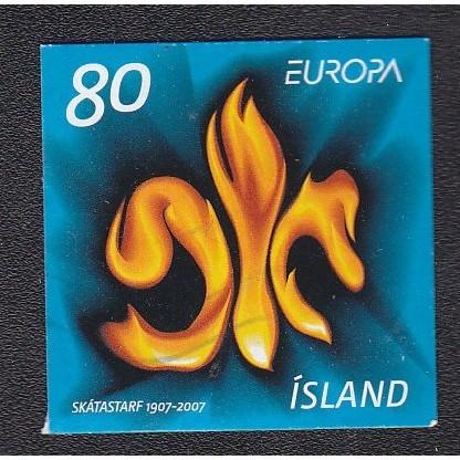 ICELAND 1112 Europa 2007 SA CV = 2.60$
