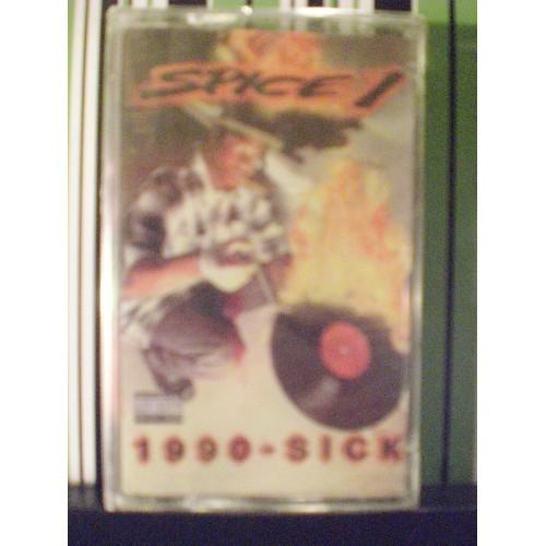 SEALED CASSETTE TAPE: #169.. SPICE - 1990 SICK / JIVE 41593