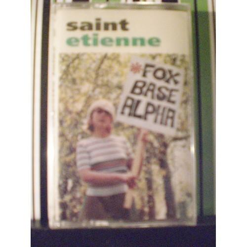 SEALED CASSETTE TAPE:  #174.. SAINT ETIENNE - FOXBADE ALPHA / WB 26793