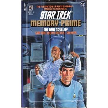 STAR TREK 42 Reeves-Stevens MEMORY PRIME