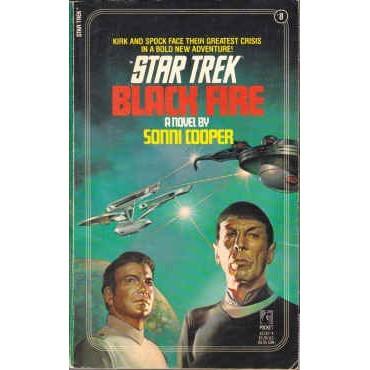 STAR TREK  8 Sonni Cooper BLACK FIRE