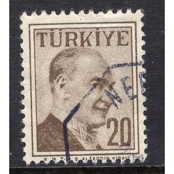 Turkey (1957) Sc# 1274 used