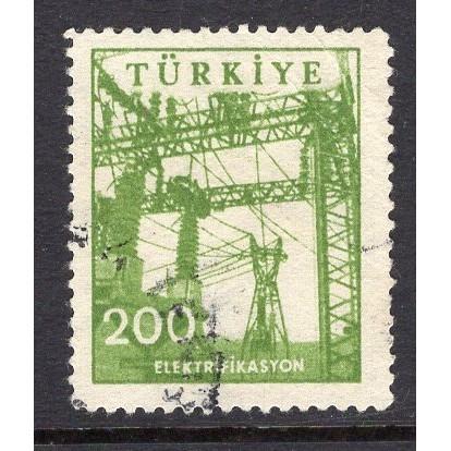 Turkey (1959-60) Sc# 1458 used; CV $0.45