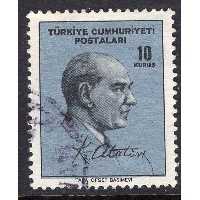Turkey (1965) Sc# 1691 used; CV $0.40
