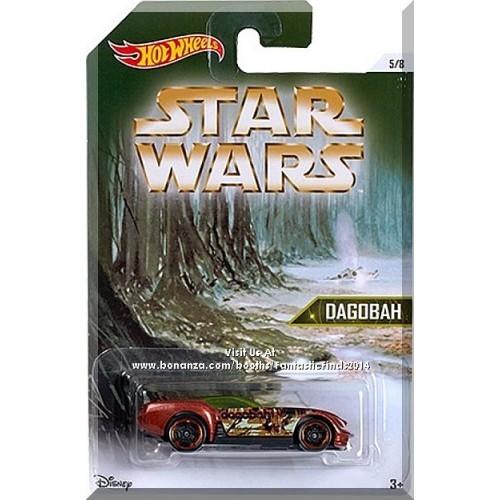 Hot Wheels - Pony-Up: Star Wars Planets Series #5/8 (2016) *Dagobah / Walmart*