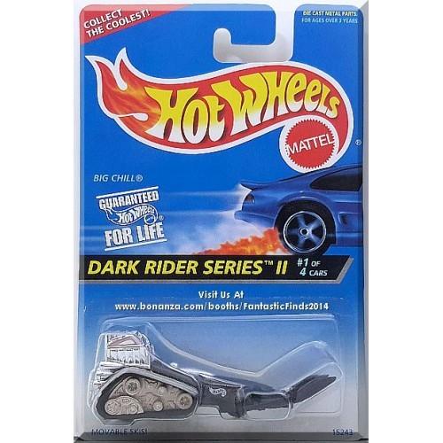 Hot Wheels - Big Chill: '96 Dark Rider Series II #1/4 - Collector #400 *Black*