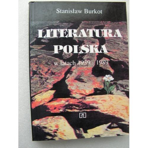 Literatura Polska w latach 1939-1989. Burkot. (Polish)