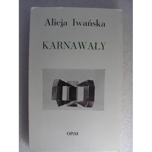 Karnawaly. Iwanska. (Londyn 1980)