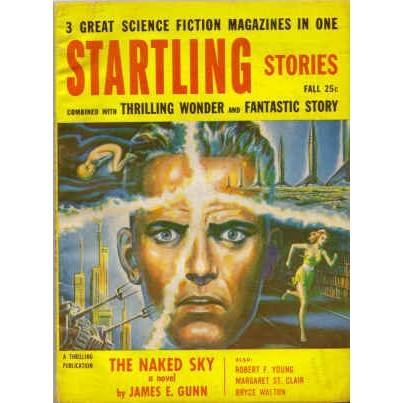STARTLING STORIES 1955/10 Gunn, Young, St Clair