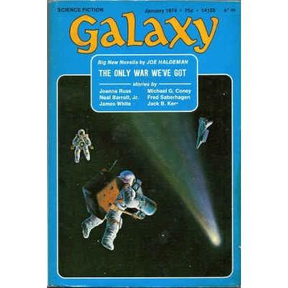 GALAXY 1974/ 1 Joe Haldeman, White, Russ