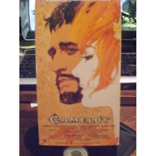 VHS TAPE: #291.. CAMELOT - RICHARD HARRIS & VANESSA REDGRAVE /  2 TAPE SET / WAR
