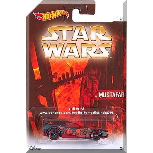 Hot Wheels - Fast Fish: Star Wars Planets Series #2/8 (2016) *Mustafar*