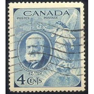 Canada 274 Alexander Bell CV = 0.20$