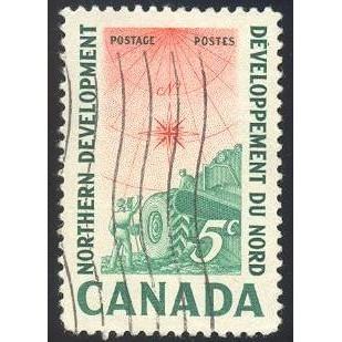 Canada 391 Northern Development CV = 0.20$