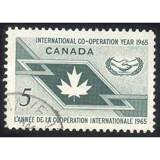 Canada 437 Int'l Co-operation Year CV = 0.20$