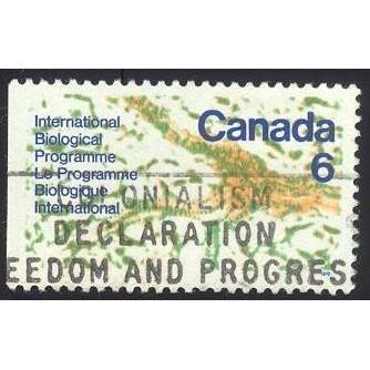 Canada 507 International Biological Programme CV = 0.20$