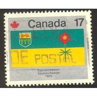 Canada 828 Flags: Saskatchewan CV = 0.20$
