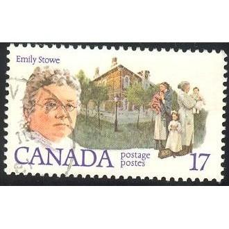 Canada 879 Feminists: Emily Stowe CV = 0.20$