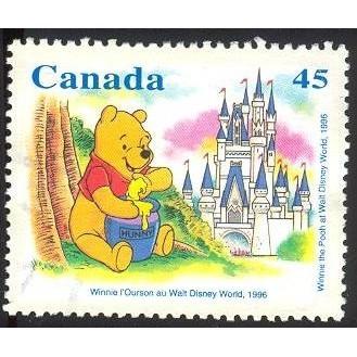 Canada 1621 Winnie: Walt Disney CV = 0.35$