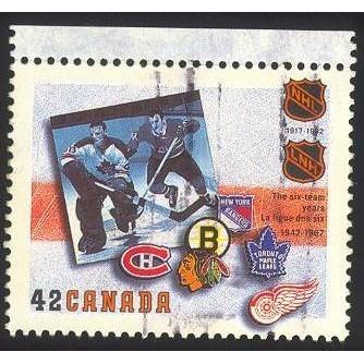 Canada 1444 Hockey 1942-1967 CV = 0.20$