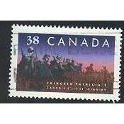 Canada 1249 Regiment: Princess Patricia's CV = 0.35$