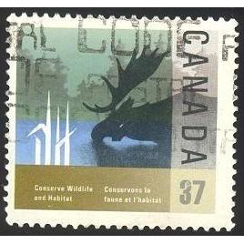 Canada 1205 Wildlife Moose CV = 0.30$