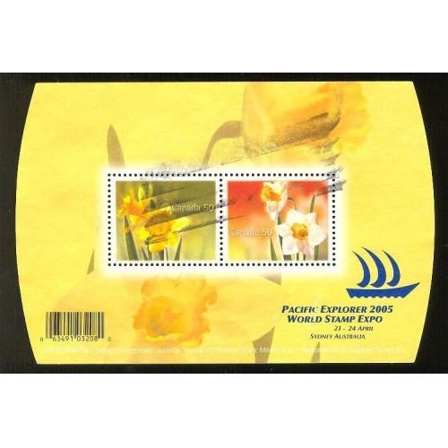 Canada 2091 Flowers SS CV = 3$