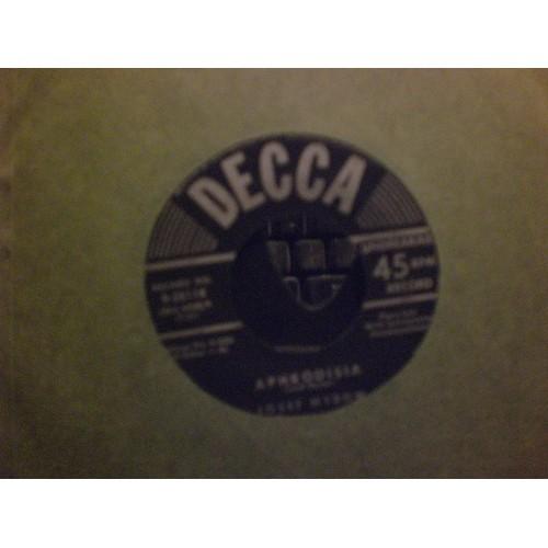45 RPM: #7146.. JOSEF MYROW - APHRODISIA & AUTUMN NOCTURNE / VG+ / DECCA 28118
