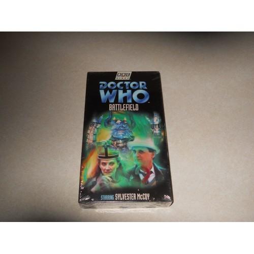 Doctor Who Battlefield VHS Sylvester McCoy Sealed, Never Opened
