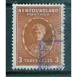 Newfoundland (1932-37) Sc# 187 used