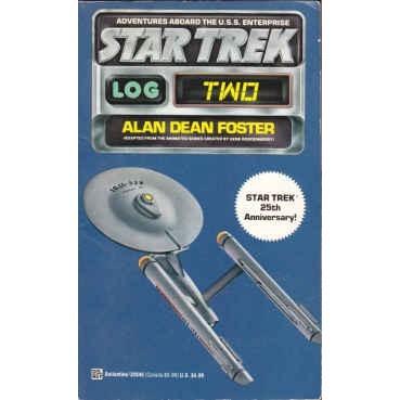 FOSTER Alan Dean STAR TREK LOG 2 Anniv Ed