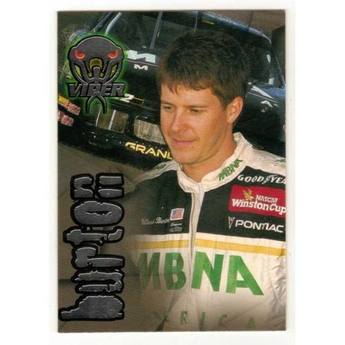 1996 Wheels Viper Ward Burton Auto Racing Card No. 9 – VF+