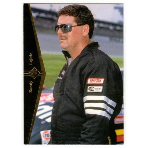 1995 Upper Deck Randy LaJoie Auto Racing Card No. 59 – VF