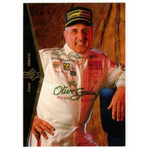 1995 Upper Deck Dave Marcis Auto Racing Card No. 72 - LN