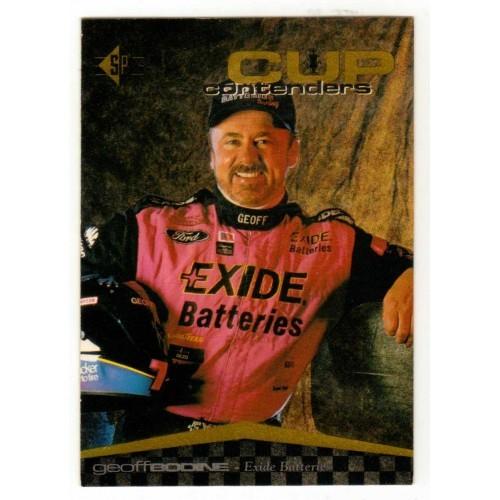 1995 Upper Deck Geoff Bodine Auto Racing Card No. 6 – VF